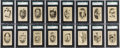 Baseball Cards:Sets, 1922 V61 Neilson's Chocolate Type 1 SGC Graded Complete Set (120). ...