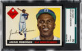 Baseball Cards:Singles (1950-1959), 1955 Topps Jackie Robinson #50 SGC 92 NM/MT+ 8.5....