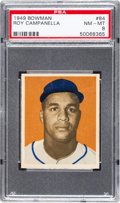 Baseball Cards:Singles (1940-1949), 1949 Bowman Roy Campanella #84 PSA NM-MT 8....