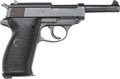 Handguns:Semiautomatic Pistol, German Mauser byf 43 Model P-38 Semi-Automatic Pistol....