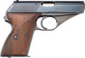Handguns:Semiautomatic Pistol, German Mauser Model HSC Semi-Automatic Pistol....