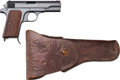 Handguns:Semiautomatic Pistol, German JHV 43 P. Model 37 Semi-Automatic Pistol.... (Total: 2 Items)