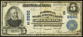 National Bank Notes:Virginia, Richmond, VA - $5 1902 Plain Back Fr. 601 National State & CityBank Ch. # (S)8666. ...