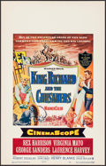 """Movie Posters:Adventure, King Richard and the Crusaders (Warner Brothers, 1954). Window Card(14"""" X 22""""). Adventure.. ..."""