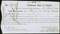 Confederate Notes:Group Lots, Charleston, SC Interim Depository Receipt $100 March 18, 1864Tremmel SC-39A.. ...