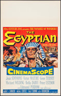 "Movie Posters:Historical Drama, The Egyptian (20th Century Fox, 1954). Window Card (14"" X 22"").Historical Drama.. ..."