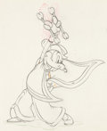 Animation Art:Production Drawing, Mickey's Rival Mortimer Mouse Animation Drawing (WaltDisney, 1936). ...