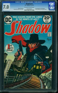 Bronze Age (1970-1979):Miscellaneous, The Shadow #1 (DC, 1973) CGC FN/VF 7.0 Off-white to white pages.