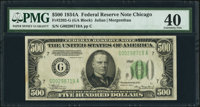 Fr. 2202-G $500 1934A Federal Reserve Note. PMG Extremely Fine 40