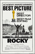 "Movie Posters:Academy Award Winners, Rocky (United Artists, 1977). One Sheet (27"" X 41""). Academy AwardsStyle B. Sports.. ..."