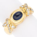 Estate Jewelry:Rings, Sapphire, Diamond, Gold Ring. ... (Total: 0 Items)