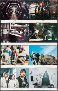 """Star Wars (20th Century Fox, 1978). Lobby Card Set of 8 (11"""" X 14""""). Science Fiction. ... (Total: 8 Items)"""