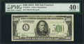 Small Size:Federal Reserve Notes, Fr. 2202-L $500 1934A Federal Reserve Note. PMG Extremely Fine 40 EPQ.. ...