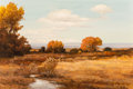 Fine Art - Painting, American:Contemporary   (1950 to present)  , Robert William Wood (American, 1889-1979). Golden Hours, 1964. Oil on canvas. 24 x 36 inches (61.0 x 91.4 cm). Signed an...
