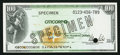 Miscellaneous:Other, Citicorp Travellers Check $100 Specimen.. ...