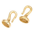 Estate Jewelry:Other, Gold Hook Clasps. ... (Total: 2 Items)
