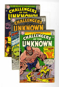 Silver Age (1956-1969):Superhero, Challengers of the Unknown Group (DC, 1966-69) Condition: Average VF.... (Total: 12 Comic Books)