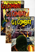Silver Age (1956-1969):War, G.I. Combat Group (DC, 1962-67) Condition: Average FN....