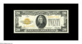 Small Size:Gold Certificates, Fr. 2402 $20 1928 Gold Certificate. Extremely Fine-About Uncirculated.. Well centered and very lightly circulated....