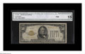 Small Size:Gold Certificates, Fr. 2404* $50 1928 Gold Certificate. CGA Fine 15....