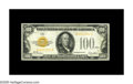 Small Size:Gold Certificates, Fr. 2405 $100 1928 Gold Certificate. Extremely Fine.. A high grade circulated example of this always in demand Gold Certific...