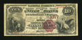 National Bank Notes:Kentucky, Danville, KY - $10 1882 Brown Back Fr. 480 The Boyle NB Ch. # 3317....