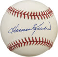 Autographs:Baseballs, Harmon Killebrew Single Signed Baseball. Harmon Killebrew was oneof the most feared power hitters of the American League,...