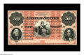 Large Size:Demand Notes, Fr. 202a Hessler 945b $50 1861 Interest Bearing Note Face Proof GemNew. This design type is one of the rarest in United Sta...