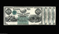 Large Size:Demand Notes, Fr. 204 Hessler 1143 $100 1863 Interest Bearing Note Face Proof With Three Attached Coupons Gem New. This Fr. 204 plate lett...