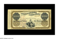 Large Size:Demand Notes, Fr. UNL $5000 1862 United States Treasury Assistant Treasurer ofthe United States at New York Certificate. This is a rare u...
