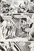 Original Comic Art:Panel Pages, Bernie Wrightson Swamp Thing #2 Story Page #22 Original Art(DC, 1972-73)....