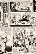 Original Comic Art:Panel Pages, John Romita Jr. and Dave Simons Amazing Spider-Man #245 Page14 Original Art (Marvel, 1983)....