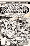 Original Comic Art:Covers, Jack Kirby Captain America #211 Cover Arnim Zola Original Art (Marvel, 1976)....