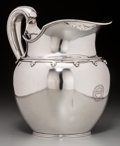 Silver Holloware, American, A Tiffany & Co. Silver Pitcher, New York, circa 1907-1947.Marks: TIFFANY & CO., 14116D, MAKERS, 9314, STERLING SILVER,92...