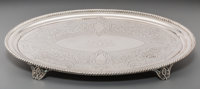 A John Chandler Moore & Son Silver Footed Tray for Tiffany & Co, New York, circa 1854 Marks: TIFFANY &am...