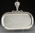 Silver Holloware, Continental, A Buccellati Silver Butler's Tray, Milan, Italy, 20th century.Marks: BUCCELLATI, STERLING, ITALY, (star-32-MI). 12-1/8 ...