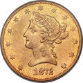 Liberty Eagles, 1872-CC $10 VF25 PCGS. Variety 1-A....