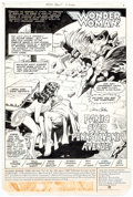 Original Comic Art:Splash Pages, Gene Colan and Romeo Tanghal Wonder Woman #290 Splash Page 1Original Art (DC, 1982)....
