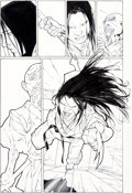 Original Comic Art:Panel Pages, Billy Tan and Jonathan Sibal X-23 #2 Story Pages 21-22Original Art (Marvel, 2005).... (Total: 2 Original Art)