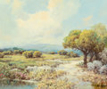 Paintings, A.D. Greer (American, 1904-1998). Texas Spring Flowers. Oil on canvas. 20 x 24 inches (50.8 x 61.0 cm). Signed lower rig...