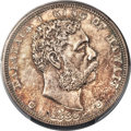 Coins of Hawaii , 1883 $1 Hawaii Dollar MS62 PCGS....