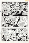 Original Comic Art:Panel Pages, John Buscema and Frank Giacoia Sub-Mariner #2 Story Page 17Triton Original Art (Marvel, 1968)....