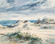 José Vives-Atsara (Spanish/American, 1919-2004) Padre Island, Texas, 1962 Oil on canvasboard 24 x 30 inches (61.0...