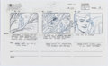 Animation Art:Production Drawing, Spider-Man Animation Storyboard Drawings Group of 6 (Marvel,1994).... (Total: 6 Original Art)
