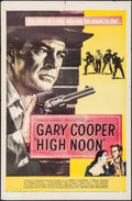 """Movie Posters:Western, High Noon (United Artists, 1952). One Sheet (27"""" X 41""""). Western.. ..."""