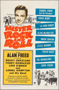 "Movie Posters:Rock and Roll, Mister Rock and Roll (Paramount, 1957). One Sheet (27"" X 41""). Rock and Roll.. ..."