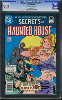 Secrets of Haunted House #27 (DC, 1980) CGC NM- 9.2 Off-white to white pages