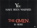 "Movie Posters:Horror, The Omen (20th Century Fox, 1976). British Quad (30"" X 40""). Advance Day-Glo Style. Horror.. ..."