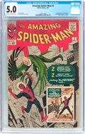 Silver Age (1956-1969):Superhero, The Amazing Spider-Man #2 (Marvel, 1963) CGC VG/FN 5.0 Cream tooff-white pages....