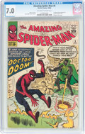 Silver Age (1956-1969):Superhero, The Amazing Spider-Man #5 (Marvel, 1963) CGC FN/VF 7.0 Off-white towhite pages....